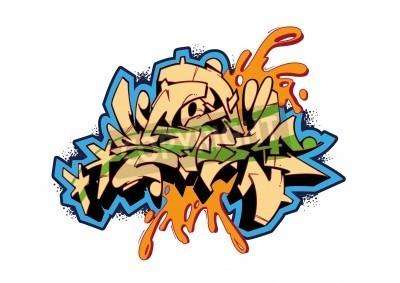 Плакат Граффити дизайн вектор эскиз, слово ШТОРМ. Это моя иллюстрация.