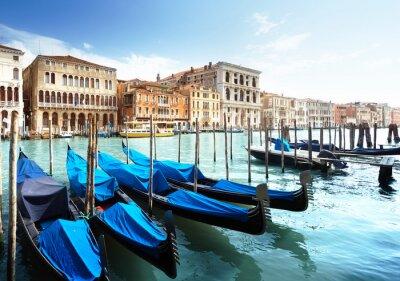 Плакат Большой канал, Венеция, Италия