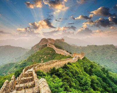 Плакат Великая китайская стена