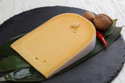 Плакат Жесткий желтый сыр