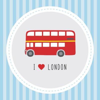Плакат Я люблю London12