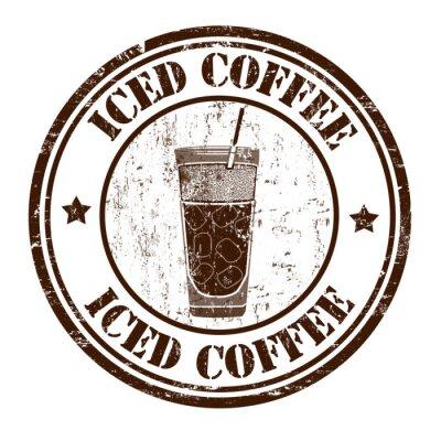 Плакат Замороженный марка кофе