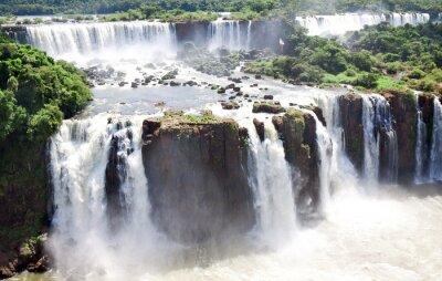 Плакат Водопады Игуасу