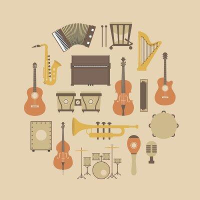 Плакат значок инструмента