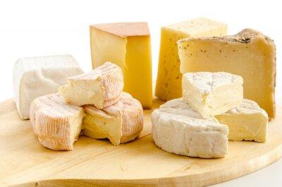 Плакат Международные сырные блюда