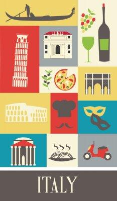 Плакат Италия.