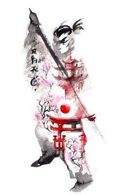 Плакат Япония