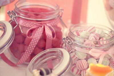 Плакат Баночка с конфетами