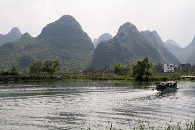 Плакат krajobraz okolic Яншо