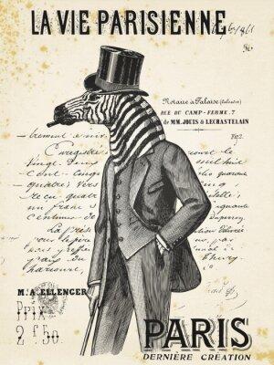 Плакат La Vie Parisienne