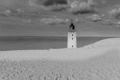 Плакат Leuchtturm Zwischen Dünen