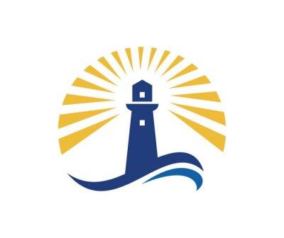 Плакат Маяк логотип