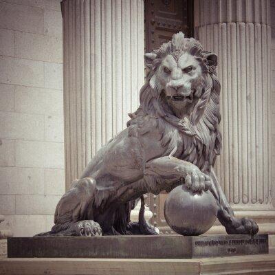 Плакат Лев