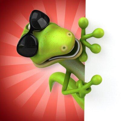 Плакат ящерица