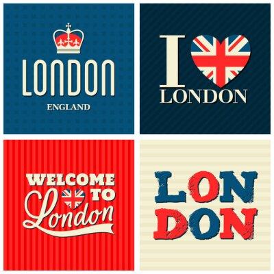 Плакат Лондон карты Коллекция