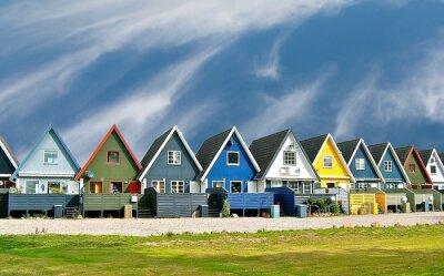 Плакат Maisons scandinaves