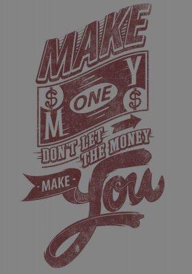 Плакат Заработать деньги