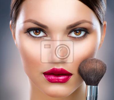 красивый макияж для лица фото