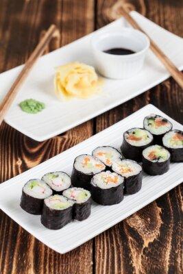 Плакат Maki набор суши