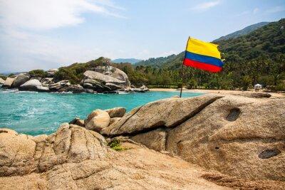 Плакат Maravilloso Национальный парк Тайрона (Колумбия)