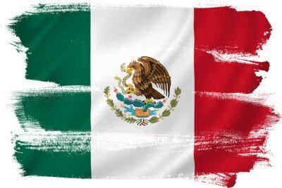 Плакат Мексика флаг