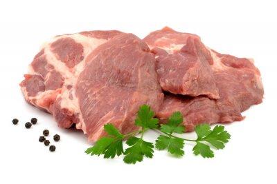 Плакат mięso wieprzowe karkówka