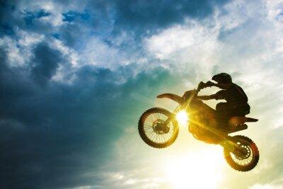 Плакат Мотокросс Велосипед Перейти