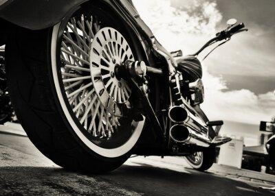 Плакат Мотоцикл