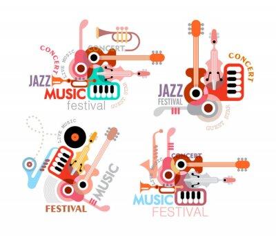 Плакат Музыкальный фестиваль Poster