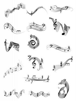 Плакат Музыка вихрем набор