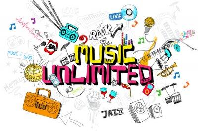 Плакат Music Unlimited