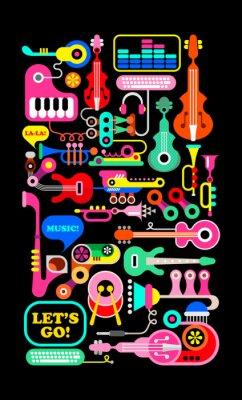 Плакат Музыкальная композиция