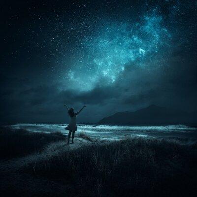 Плакат Ночь похвалы