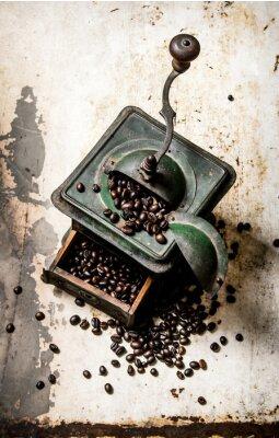 Плакат Старый кофемолке