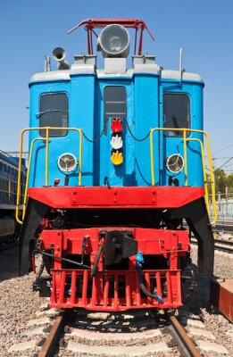 Плакат Старый поезд