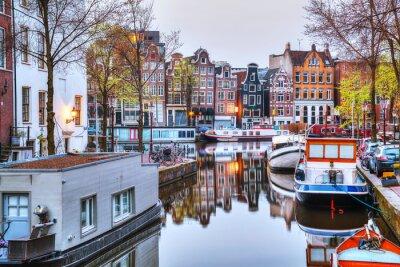 Плакат Обзор Амстердаме