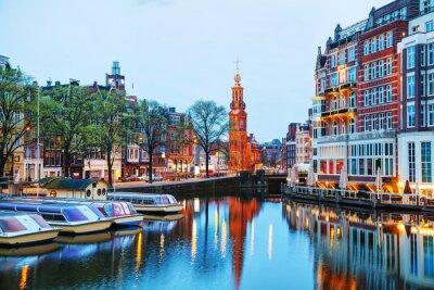 Плакат Обзор Амстердам Munttoren