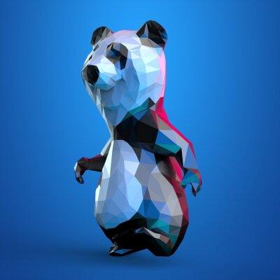 Плакат панда