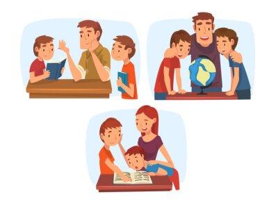 Mom Helps Dad
