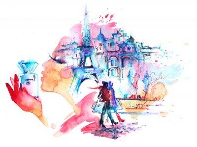Плакат Париж