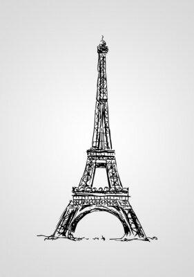 Плакат Париж искусство иллюстрации дизайн