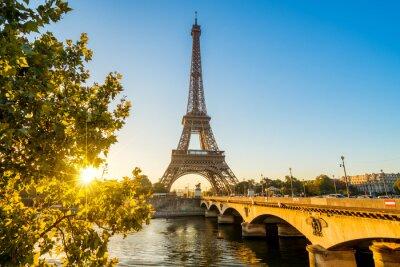 Плакат Париж Eiffelturm Eiffeltower Tour Eiffel