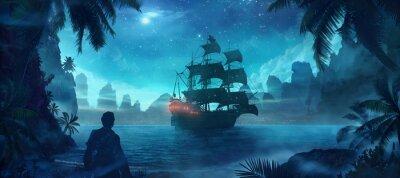 Плакат пират