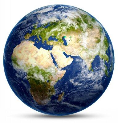 Плакат Планета Мир