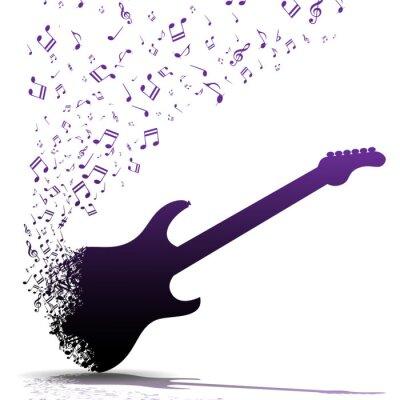 Плакат Играть на гитаре