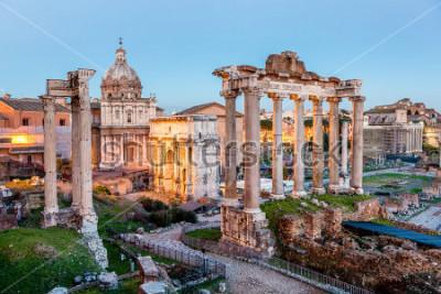 Плакат Римский Форум в Риме