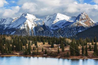 Плакат Mountain Landscape in Colorado Rocky Mountains, Colorado, United States.