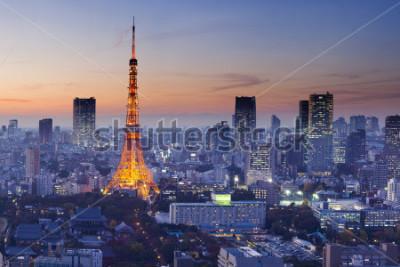 Плакат Tokyo Tower, Tokyo, Japan