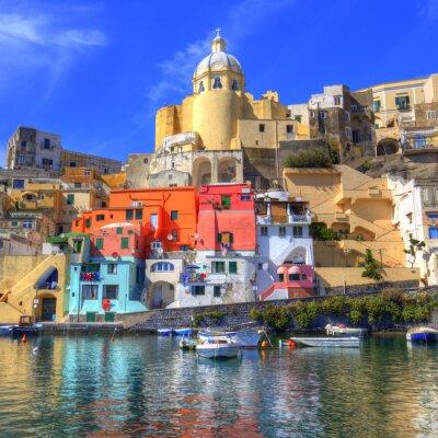 Плакат Прочида, Изола-нель-Mar Mediterraneo, Наполи