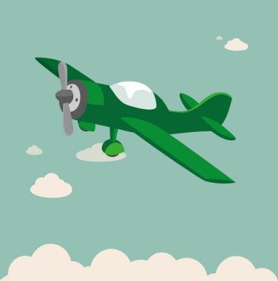 Плакат Пропеллер самолета Stock